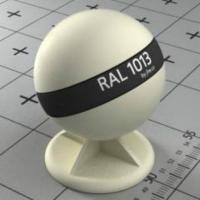 RAL 1013 краска для фасадов МДФ серовато-белая (устричный цвет)