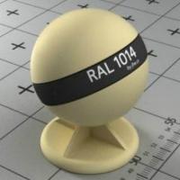 """RAL 1014 краска для фасадов МДФ """"слоновая кость"""""""