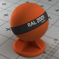 RAL 2001 краска для фасадов МДФ цвет красно-оранжевая