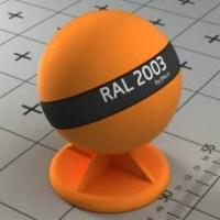 RAL 2003 краска для фасадов МДФ цвет апельсиновой пастели