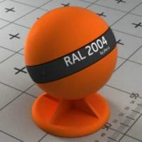 RAL 2004 краска для фасадов МДФ чистый оранжевый цвет