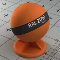RAL 2010 краска для фасадов МДФ цвета сигнально-оранжевая