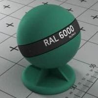 RAL 6000 краска для фасадов МДФ патиново-зеленая