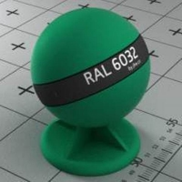 RAL 6032 краска для фасадов МДФ сигнальная зеленая
