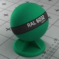 RAL 6032  краска для фасадов МДФ сигнально-зеленая