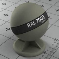 RAL 7003 краска для фасадов МДФ мшисто-серая