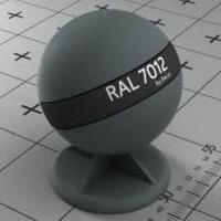 RAL 7012 краска для фасадов МДФ базальтово-серая