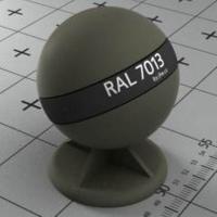 RAL 7013  краска для фасадов МДФ коричнево-серая
