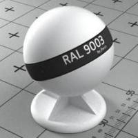 RAL 9003 краска для фасадов МДФ сигнально-белая