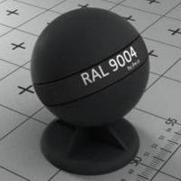 RAL 9004 краска для фасадов МДФ сигнально-черная
