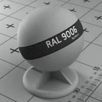 RAL 9006 краска для фасадов МДФ белый алюминий