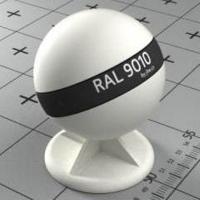 RAL 9010  краска для фасадов МДФ чистая белая