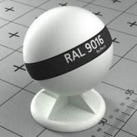RAL 9016  краска для фасадов МДФ дорожно-белая