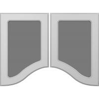 Фрезеровка 267 Фигурный коллекция Классик фасады Кедр