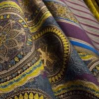 Мебельная ткань жаккард FORTUNE Velour Golden Olive (Фортун Велюр Голдэн Олив)