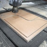 Изготовление шаблона для криволинейных деталей и нестандартных радиусов. Общая площадь от 0,25 м.кв. до 1 м.кв.