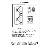 Фрезеровка Клетка, фасады МДФ в пленке ПВХ, любые размеры