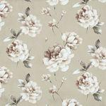 Мебельная ткань микрофибра FUROR Flowers Beige (Фурор Флауэрс Бэйж)