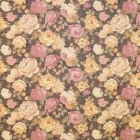 Мебельная ткань микрофибра FUROR Garden Brown (Фурор Гардэн Браун)