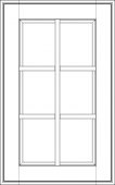 """Фасад под стекло с обрешеткой Милан Бьянко  1316х597 VLG тип """"K""""   массив Италия"""