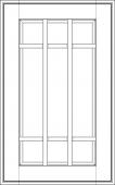 """Фасад под стекло с обрешеткой  Милан Бьянко  1316х597 VLG тип """"A""""   массив Италия"""