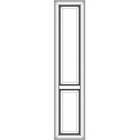 NIK409 Фасад с филенкой Нике для корпусной мебели 2036x447PP   массив Италия