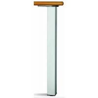 Опора алюминиевая для стола квадратная