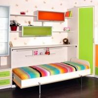 Механизм для подъема односпальной горизонтальной шкафа-кровати MLA 209