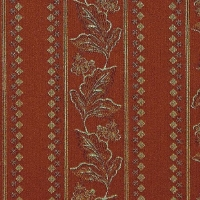 Мебельная ткань жаккард GRAZIA Stripe Terracot (Грация Страйп Терракот)