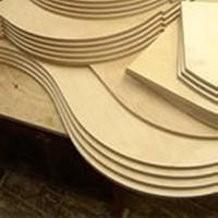 Изготовление шаблона для криволинейных деталей и нестандартных радиусов. Общая площадь свыше 1 м.кв.
