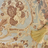 Мебельная ткань жаккард INFANTA Garland Blue (Инфанта Гарлэнд Блю)