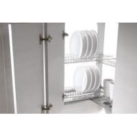 Комплект посудосушителя в угловой шкаф в шкаф 600х600мм, ДСП 16 мм, хром