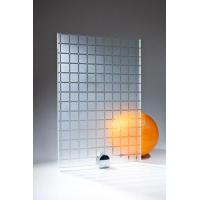 Стекло Каре бесцветное матированное узорчатое 2550х1605х4мм