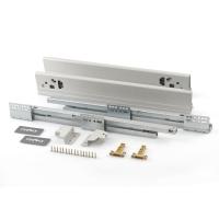 Комплект для ящика Firmax 500мм, Н 83мм с доводчиком, серебристый