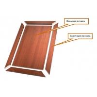 Изготовление рамочных фасадов МДФ с прирезкой под 45 градусов, соединение шип