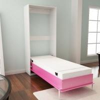 Механизм подъема для вертикальной односпальной шкаф-кровати маленькой глубины MLA 218