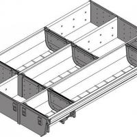 Лоток для нестандартной ширины корпуса (297мм), L=450мм