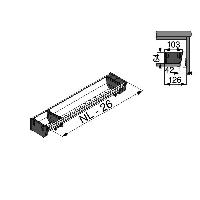 Лоток для нестандартной ширины корпуса (103мм), L=500мм
