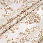 Мебельная ткань жаккард MARGUERITE DE VALOIS Fleur Blanc (МАРГАРИТ ДЕ ВАЛУА Флёр Блёнк)