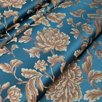 Мебельная ткань жаккард MARGUERITE DE VALOIS Fleur Marin (МАРГАРИТ ДЕ ВАЛУА Флёр Маран)