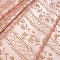 Мебельная ткань жаккард MARGUERITE DE VALOIS Ligne Rose (МАРГАРИТ ДЕ ВАЛУА Лини Роз)