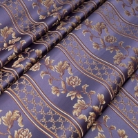 Мебельная ткань жаккард MARGUERITE DE VALOIS Ligne Violet (МАРГАРИТ ДЕ ВАЛУА Лини Вёлет)