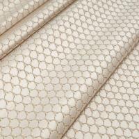 Мебельная ткань жаккард MARGUERITE DE VALOIS Losange Blanc (МАРГАРИТ ДЕ ВАЛУА Лёзонж Блёнк)