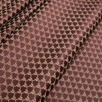 Мебельная ткань жаккард MARGUERITE DE VALOIS Losange Marsala (МАРГАРИТ ДЕ ВАЛУА Лёзонж Марсала)