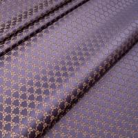 Мебельная ткань жаккард MARGUERITE DE VALOIS Losange Violet (МАРГАРИТ ДЕ ВАЛУА Лёзонж Вёлет)