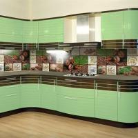 Монтаж кухни (кухонного гарнитура), ванной, прачечной (постирочной) комнаты - 10 % от стоимости