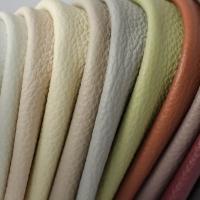 Мебельная ткань натуральная кожа MORRIS Brow (Моррис Броу)