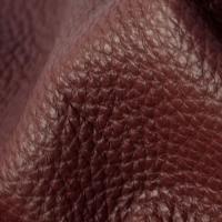 Мебельная ткань натуральная кожа MORRIS Burgundy (Моррис Бургунди)