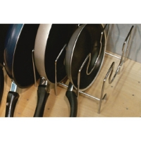 KPAD MC Набор держателей для 3 сковородок, отделка хром глянец