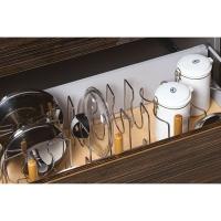 Набор держателей для 3 сковородок, отделка хром глянец